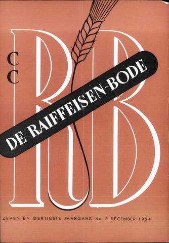 blad 'De Raiffeisen-bode' (CCRB) 1954-12-01