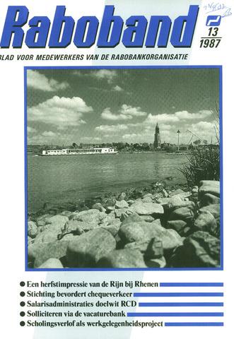 blad 'Raboband' 1987-09-23