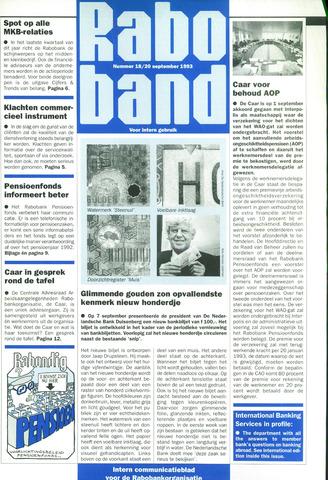 blad 'Raboband' 1993-09-20