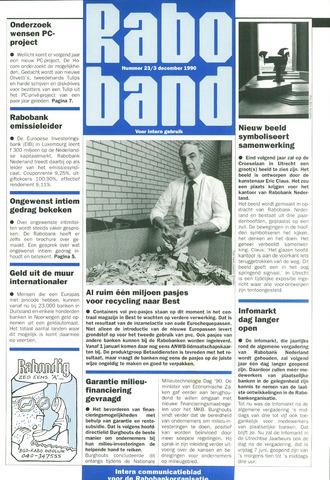 blad 'Raboband' 1990-12-03