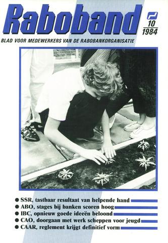 blad 'Raboband' 1984-07-25