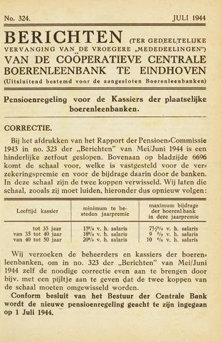 blad 'Maandelijkse Mededelingen' (CCB) 1944-07-01