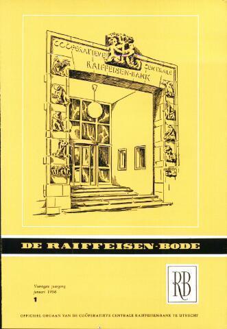 blad 'De Raiffeisen-bode' (CCRB) 1958