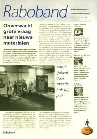 blad 'Raboband' 1995-02-27