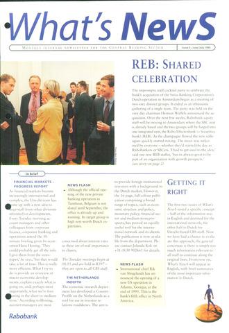 blad 'What's news' (EN) 1995-06-01