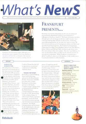blad 'What's news' (EN) 1996-05-01