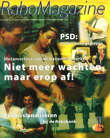 blad 'RaboMagazine' 1996-09-01