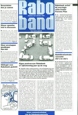 blad 'Raboband' 1993-10-04