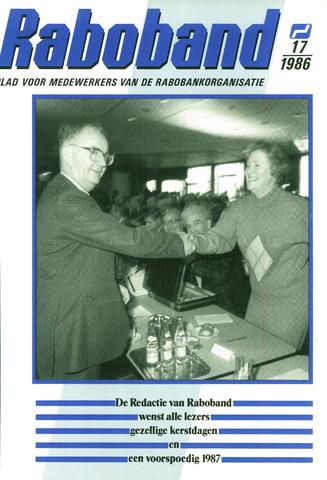 blad 'Raboband' 1986-12-17