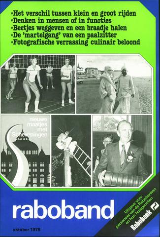 blad 'Raboband' 1978-10-01