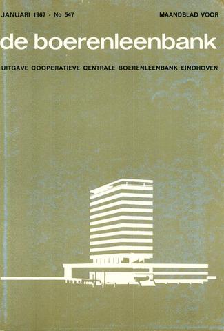 blad 'de boerenleenbank' (CCB) 1967-01-01