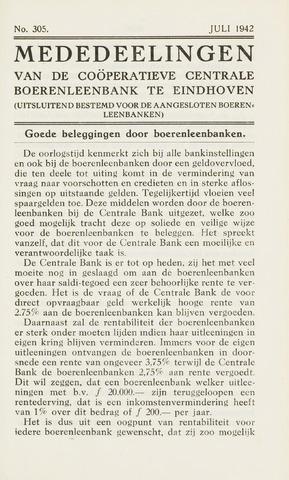 blad 'Maandelijkse Mededelingen' (CCB) 1942-07-01