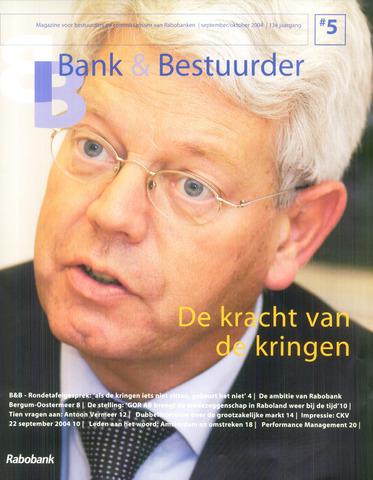 blad 'Bank & Bestuurder' 2004-09-01