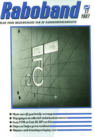 blad 'Raboband' 1987-12-16