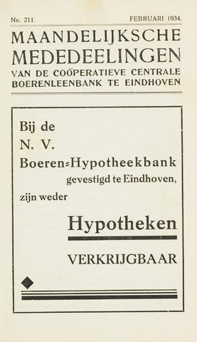 blad 'Maandelijkse Mededelingen' (CCB) 1934-02-01
