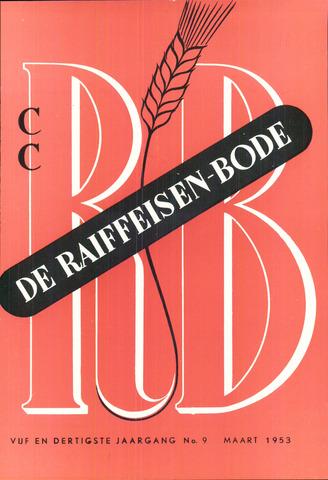blad 'De Raiffeisen-bode' (CCRB) 1953-03-01