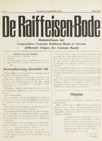 blad 'De Raiffeisen-bode' (CCRB) 1915