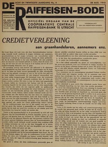 blad 'De Raiffeisen-bode' (CCRB) 1945-08-20