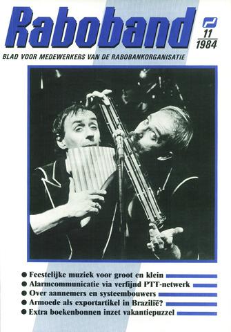 blad 'Raboband' 1984-08-15