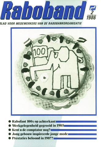 blad 'Raboband' 1986-02-05