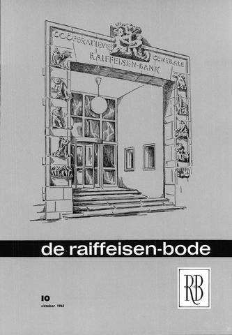 blad 'De Raiffeisen-bode' (CCRB) 1963-10-01