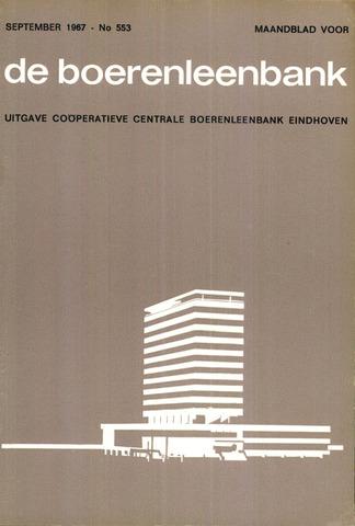 blad 'de boerenleenbank' (CCB) 1967-09-01