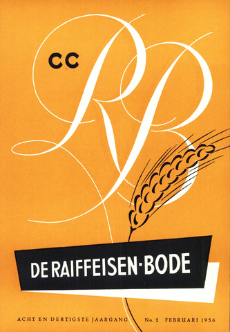 blad 'De Raiffeisen-bode' (CCRB) 1956-02-01