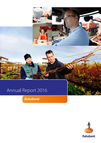 Annual Reports Rabobank 2016