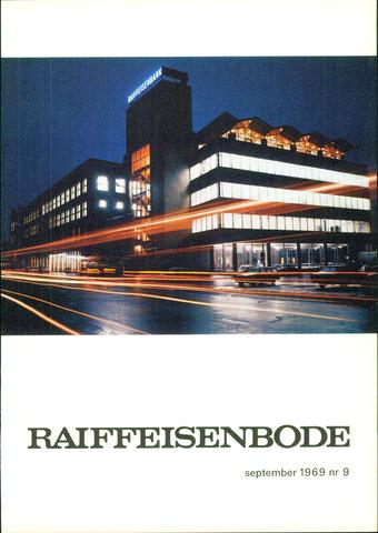 blad 'De Raiffeisen-bode' (CCRB) 1969-09-01