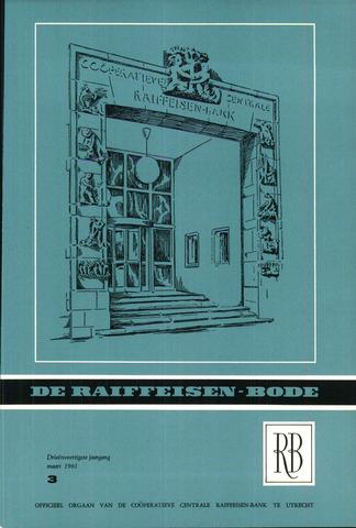blad 'De Raiffeisen-bode' (CCRB) 1961-03-01