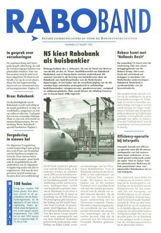 blad 'Raboband' 1994-03-07