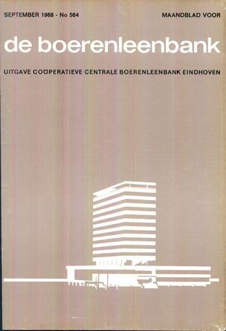 blad 'de boerenleenbank' (CCB) 1968-09-01