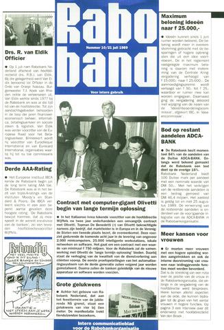 blad 'Raboband' 1989-07-21