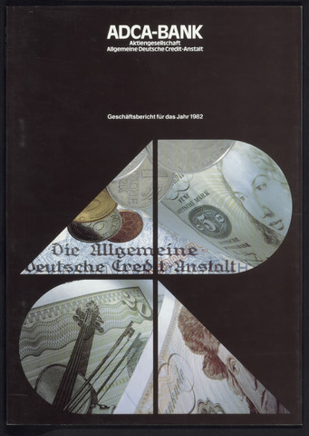 Geschäftsberichte Allgemeine Deutsche Credit-Anstalt / ADCA Bank 1982-01-01