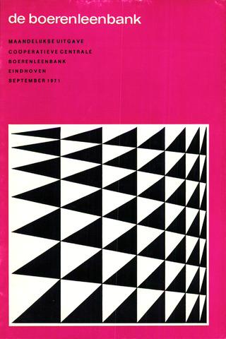blad 'de boerenleenbank' (CCB) 1971-09-01