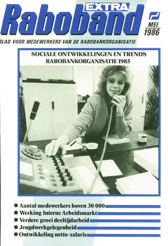 blad 'Raboband' 1986-05-01