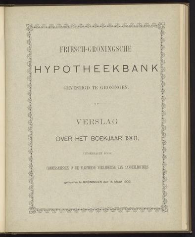 Jaarverslagen Friesch-Groningsche Hypotheekbank / FGH Bank 1901