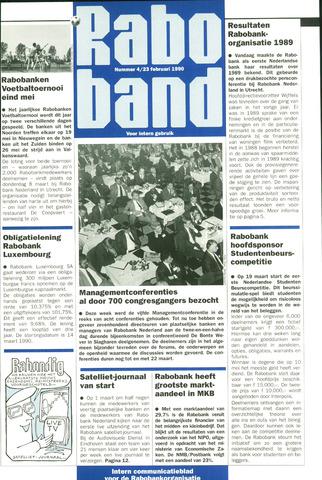 blad 'Raboband' 1990-02-23