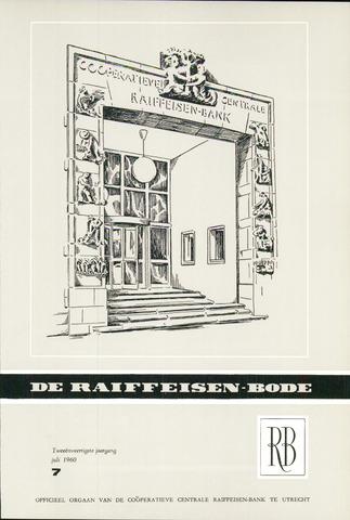 blad 'De Raiffeisen-bode' (CCRB) 1960-07-01