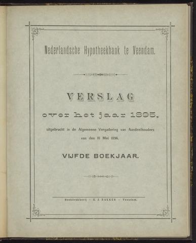 Jaarverslagen Nederlandsche Hypotheekbank 1895