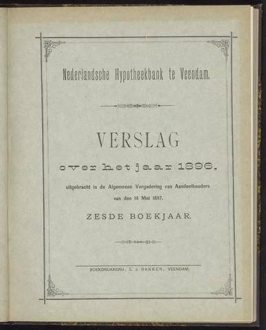 Jaarverslagen Nederlandsche Hypotheekbank 1896