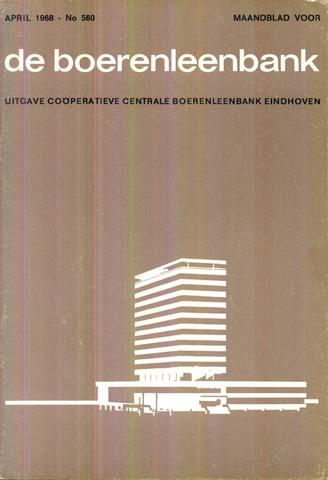 blad 'de boerenleenbank' (CCB) 1968-04-01