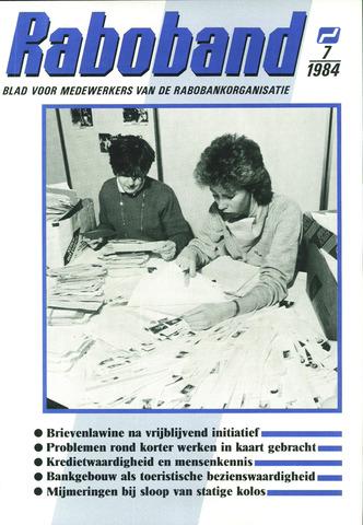 blad 'Raboband' 1984-05-23