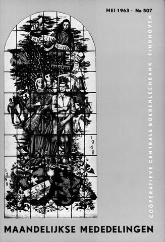 blad 'Maandelijkse Mededelingen' (CCB) 1963-05-01