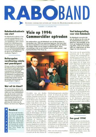 blad 'Raboband' 1994-10-01