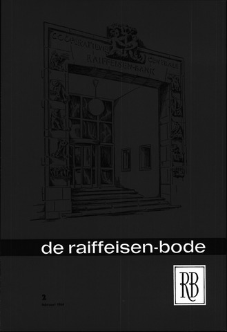 blad 'De Raiffeisen-bode' (CCRB) 1964-02-01