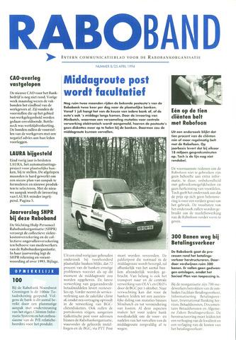 blad 'Raboband' 1994-04-25