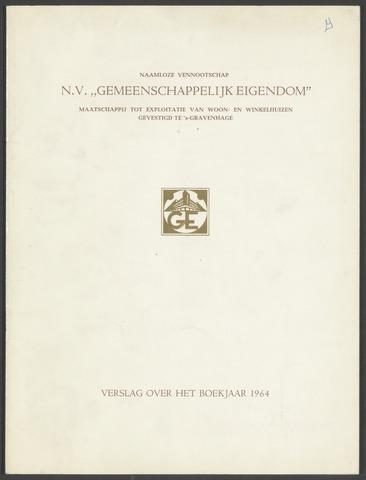 Jaarverslagen Gemeenschappelijk Eigendom 1964