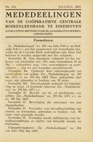 blad 'Maandelijkse Mededelingen' (CCB) 1943-07-01