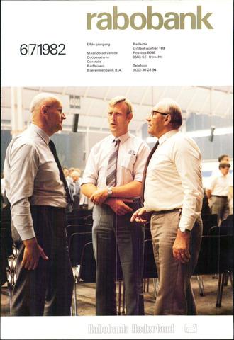 blad 'Rabobank' 1982-06-01
